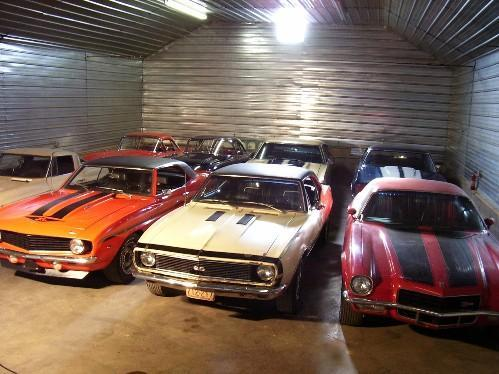 Chevy Muscle Car Collection Found