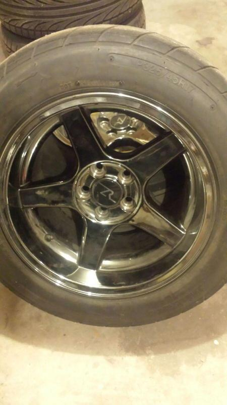 Mustang Roush For Sale >> For Sale 17x9, 17x10.5 black chrome 03 04 Cobra deep dish ...