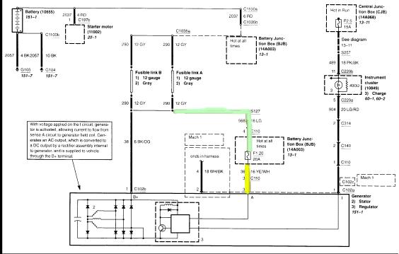 99  01 Alternator Wiring Question