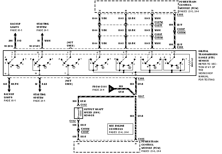 Anyone Have 4r70w Trans Wiring Harness Diagram