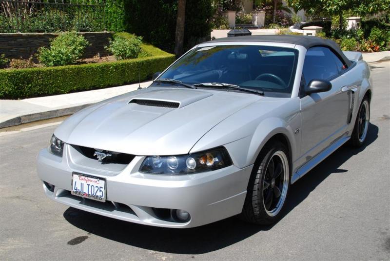 2000 Silver Mustang Gt Vert
