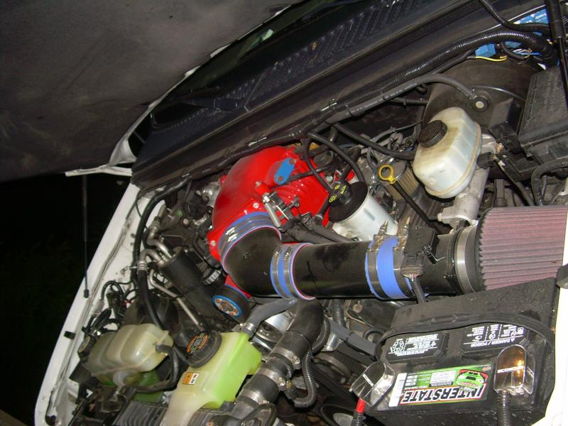 03 ford lightning supercharger install on an 03 Ford F250