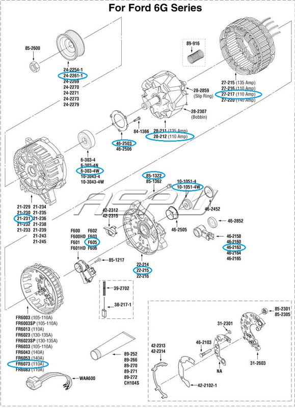 Name:  Ford 6G parts.jpg