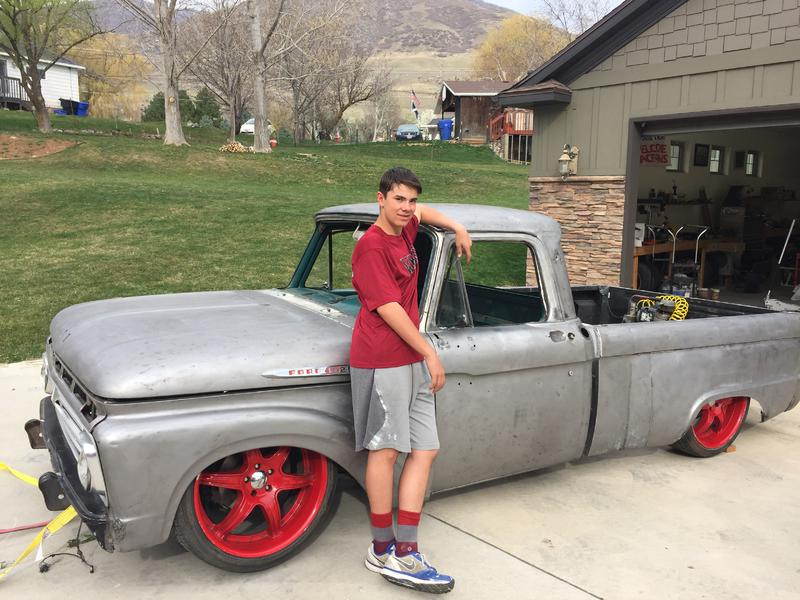 4 6 swap into '66 F100 wiring question