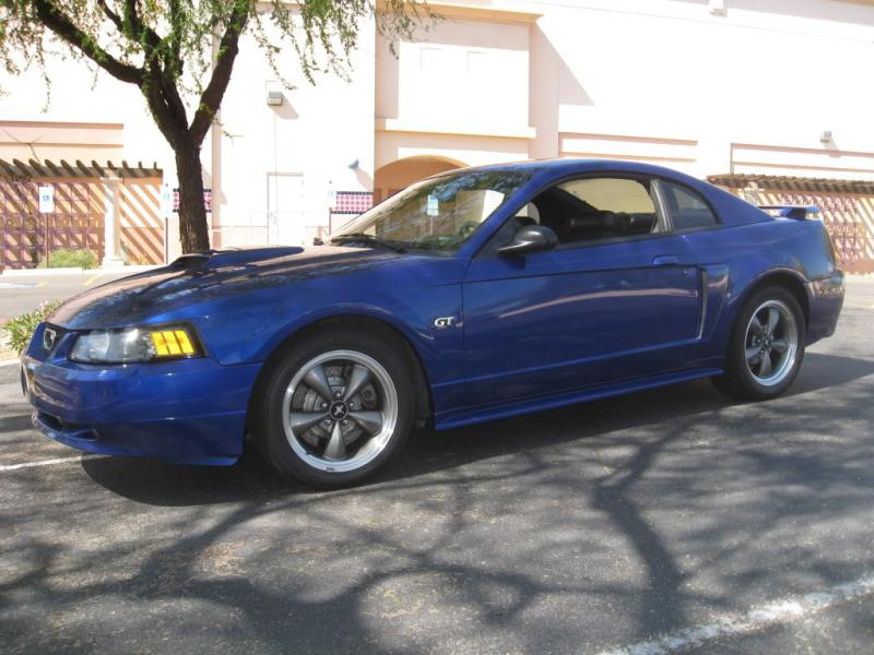 For Sale 2003 Mustang Gt Sonic Blue